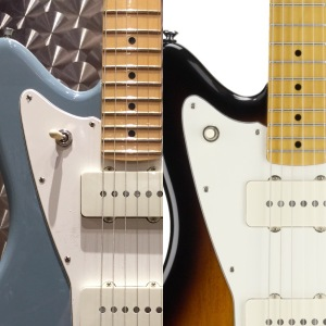 Compare the toggle switch positions. L: Fender AM-PRO R: Squier VM