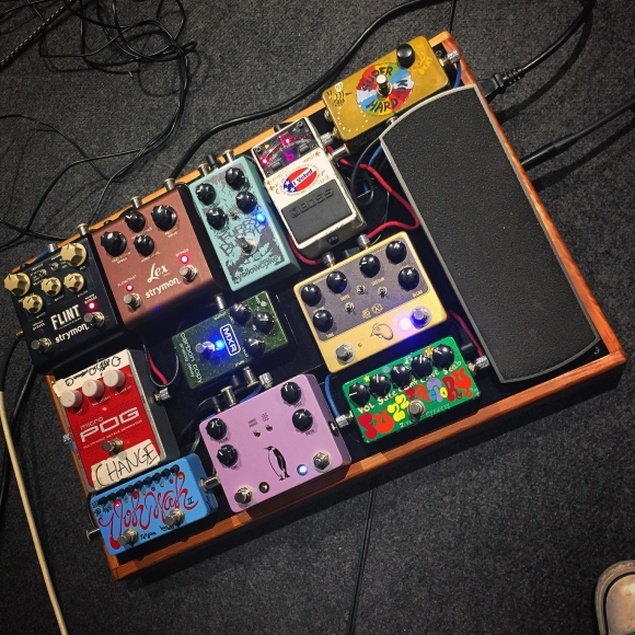 My board from the most recent LeoLeo tour.